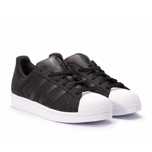 adidas Shoes - Adidas women s superstar sparkle glitter black 7 ae6530dc1b